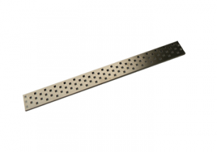 Square Perforated Grating Stainless Steel